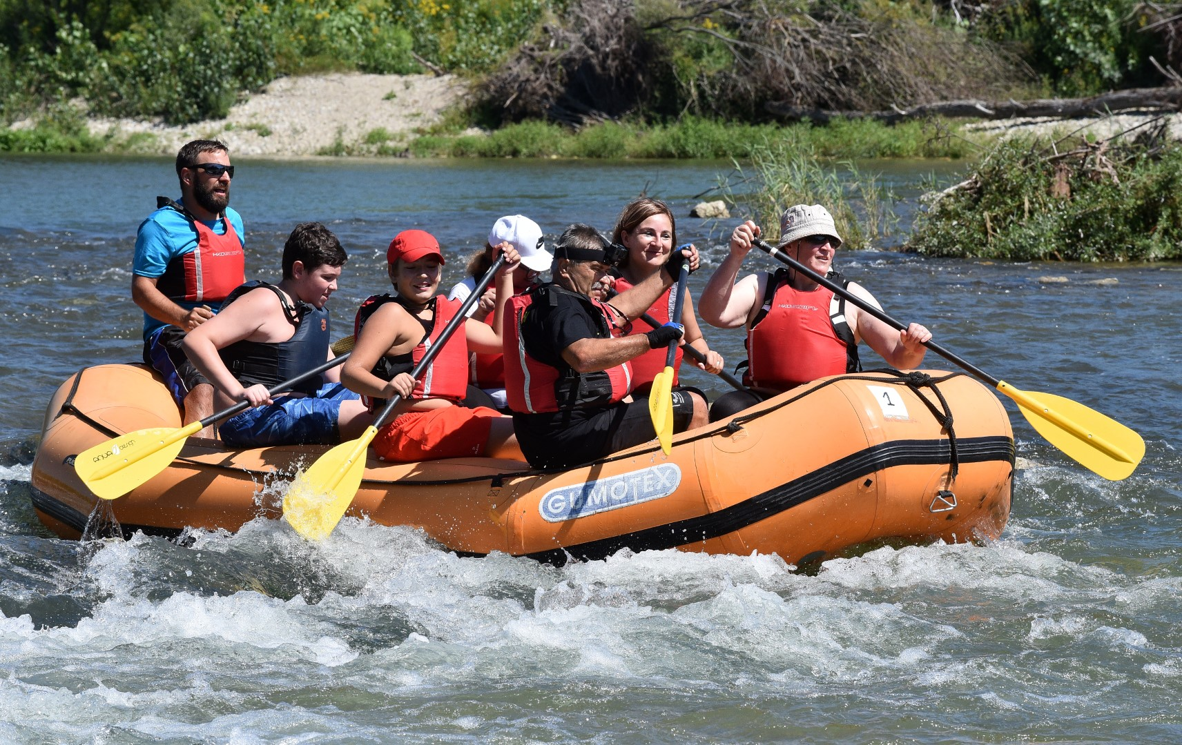 9.drava river rafting